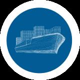 Sea transportations.